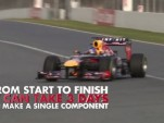 Infiniti Red Bull Racing explains its carbon composite process