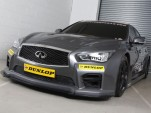Infiniti Support Our Paras Racing Q50 race car for 2015 BTCC