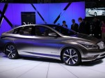 Infiniti Zero Emission Concept: NY Auto Show Live Photos