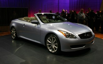 One Week Test Drive: the 2010 Infiniti G37 Folding Hardtop Convertible