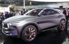 Infiniti QX Sport Inspiration wears new clothes in Paris