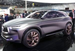 Infiniti QX Sport Inspiration concept, 2016 Paris auto show