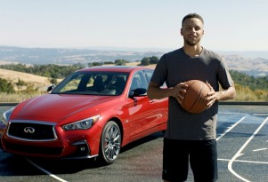 Infiniti ambassador Steph Curry