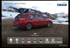 Dynamic Interactive 2012 Brochures – From Subaru, Of Course