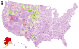 Interactive Map Shows How America Gets To Work (Spoiler: Most Of Us Drive Alone)