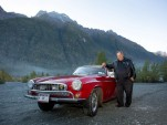 Irv Gordon and his 1966 Volvo 1800S with 3 million miles on the clock