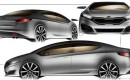 Is this the 2013 Kia Forte sedan?  Image: Kia World