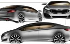 2013 Kia Forte Sketches Revealed?