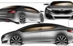 2013 Kia Forte Sketches Revealed?