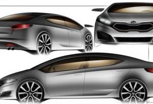 Is this the 2013 Kia Forte sedan?  Image: Kia World