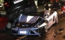 Italian Police Crash Lamborghini Gallardo