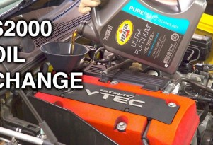 It's this easy to change your own oil