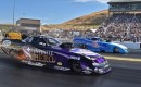Jack Beckman and the Infinite Hero Dodge Charger at the 2015 NHRA Sonoma Nationals