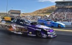 Watch An NHRA Funny Car Set A Record Pass: Video