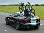 Jaguar F-Type built by SVO for Team Sky Tour de France cycling team