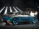 Jaguar I-Pace electric SUV concept breaks cover at LA Auto Show