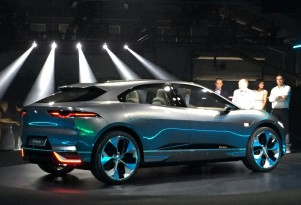 Jaguar I-Pace electric SUV being built now; Europe launch this year, U.S. in 2018
