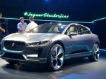 Jaguar I-Pace electric concept at LA Auto Show: video walkaround