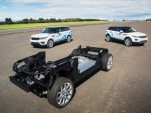 Jaguar Land Rover electrified vehicle concepts