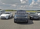 Jaguar Land Rover group lineup in 2011