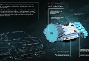 Jaguar Land Rover Transcend transmission