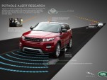 Jaguar Land Rover's 'Pothole Alert'