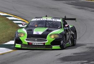 Jaguar RSR team competes in 2010 Petit Le Mans Photo: Anne Proffit