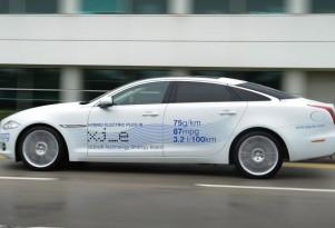Jaguar Displays XJ_e Plug-in Hybrid At GoodWood Festival Of Speed
