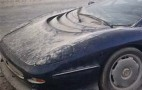 Rare Jaguar XJ220 Supercar Abandoned In Desert