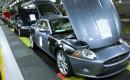 Jaguar XKR production line