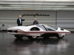 James Glickenhaus (left) and the Ferrari Modulo concept