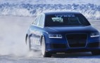 Audi RS6 Shatters Bentley Continental Supersports Ice Speed Record