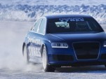 Janne Laitinen sets 206.1 mph ice speed record in an Audi RS6