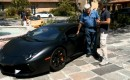 Jay Leno and Stephan Winkelmann talk about the Lamborghini Aventador