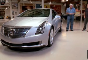 Jay Leno and the 2014 Cadillac ELR