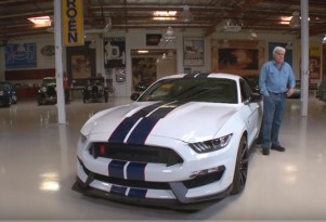 Jay Leno and the 2015 Ford Mustang Shelby GT350R