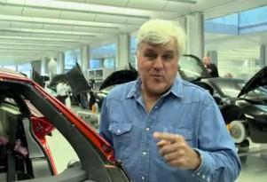 Jay Leno at the McLaren Technical Center