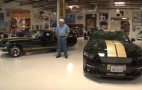 Jay Leno checks out Ford's Hertz Rent-A-Racer Shelby Mustang
