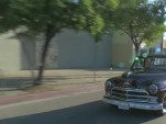 Jay Leno drives a special Plymouth Business Coupe