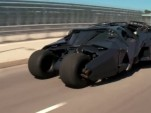 Jay Leno drives Batman's Tumbler