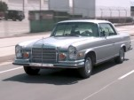 Jay Leno drives his 1971 Mercedes-Benz 280SE Coupe