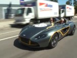 Jay Leno drives the Aston Martin CC100 concept