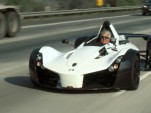Jay Leno drives the BAC Mono