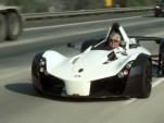 Jay Leno drives the BAC Mono