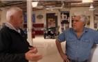 Jay Leno, Bob Lutz, Talk Plug-ins, Drive Via Plug-in Hybrid Truck