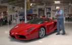 """Jay Leno welcomes the """"holy grail of sports cars,"""" the Ferrari Enzo"""
