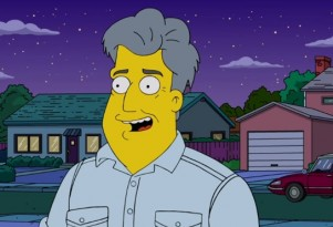 Jay Leno on The Simpsons