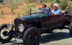 Jay Leno samples a hot-rodded Model T done right