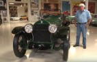 Jay Leno takes a spin in his 1918 Stuz Bearcat