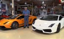 Jay Leno tests the 2012 Lamborghini Gallardo LP 570-4 and the LP 550-2